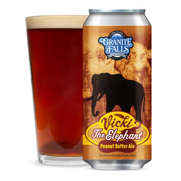 Vicki Elephant Peanut Butter Ale