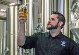 Head Brewer Joseph Ackerman